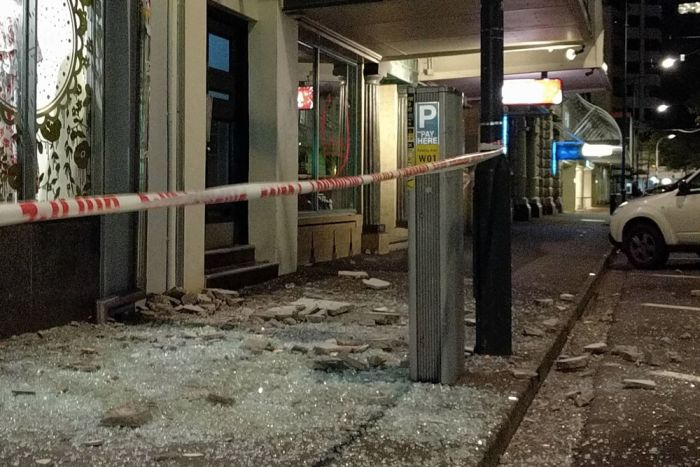 Разрушительное землетрясение в Новой Зеландии (20 фото + видео)
