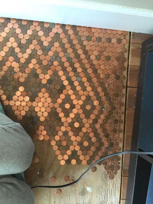 Монетный пол (13 фото)