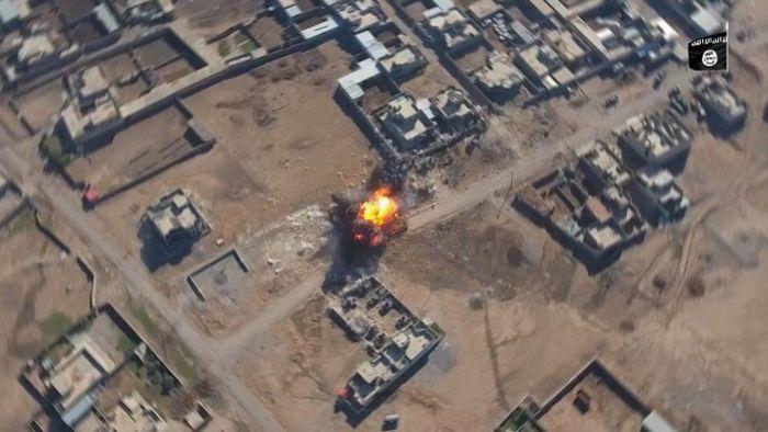 Машины смерти боевиков ИГИЛ (2 фото + видео)