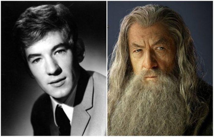 Знаменитые актеры, которых мы не помним молодыми (12 фото)