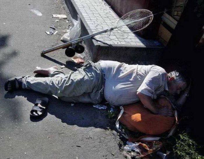 Люди, которые перебрали с алкоголем (38 фото)