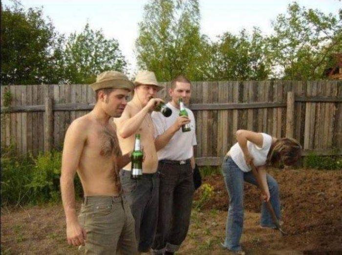 Настоящие «джентльмены» (42 фото)