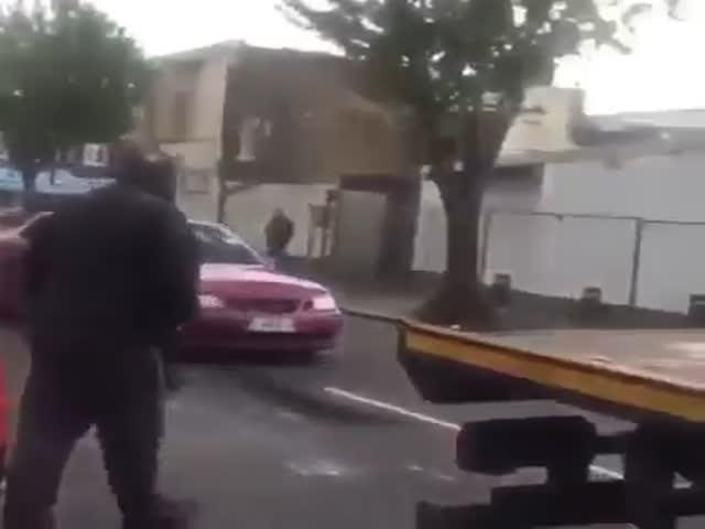Побег с эвакуатора