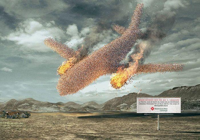 Самая эффективная антитабачная реклама (35 фото)
