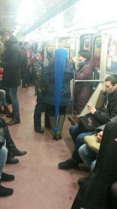 «Высокая мода» российского метро (33 фото)