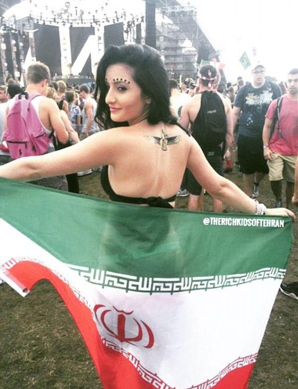 Как живет «золотая молодежь» Ирана (20 фото)