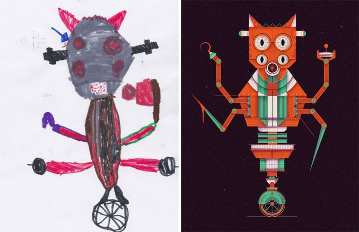 The Monster Project: монстры из детских фантазий, нарисованные профессиональными художниками (35 фото)