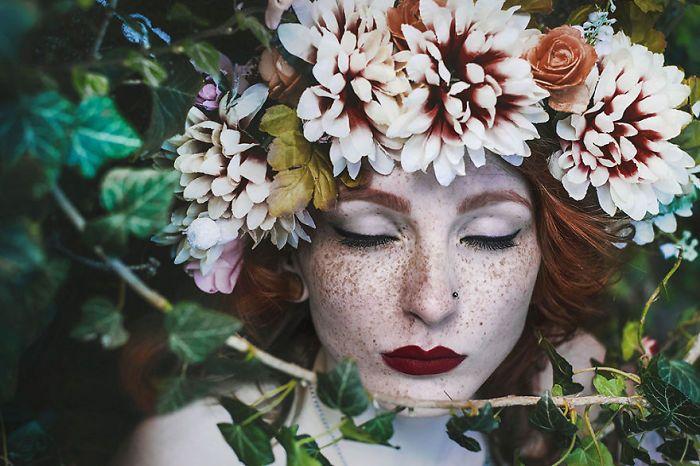 Симпатичные девушки с веснушками (30 фото)