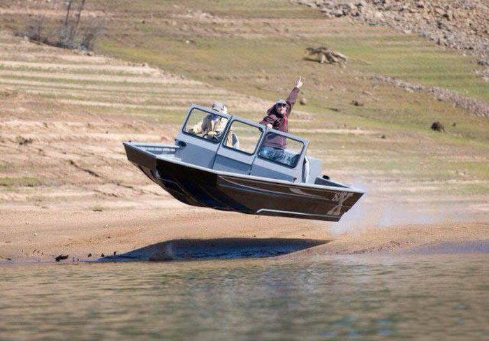 Необычные лодки и их забавные пассажиры (47 фото)