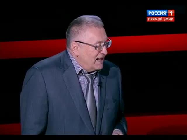Анекдот Жириновского на программе «Воскресный вечер»