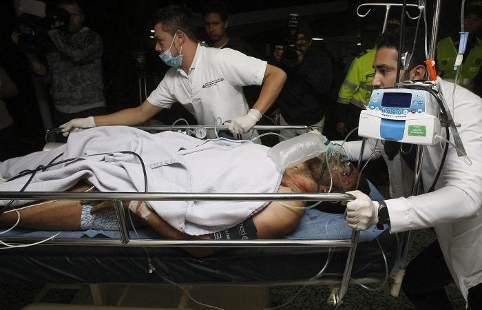 В Колумбии разбился самолет перевозивший футбольную команду «Шапекоэнсе»