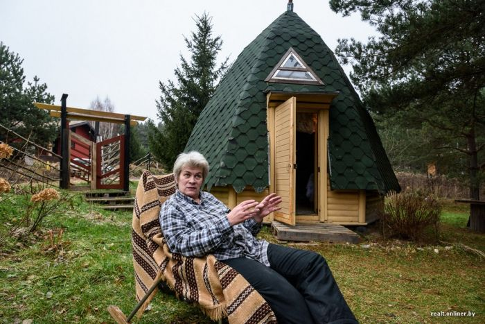 Как жительница Минска решила вопрос с дачным домиком (37 фото)