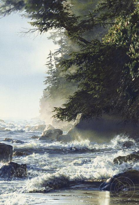 Удивительные пейзажи Кэрол Эванс (26 фото)