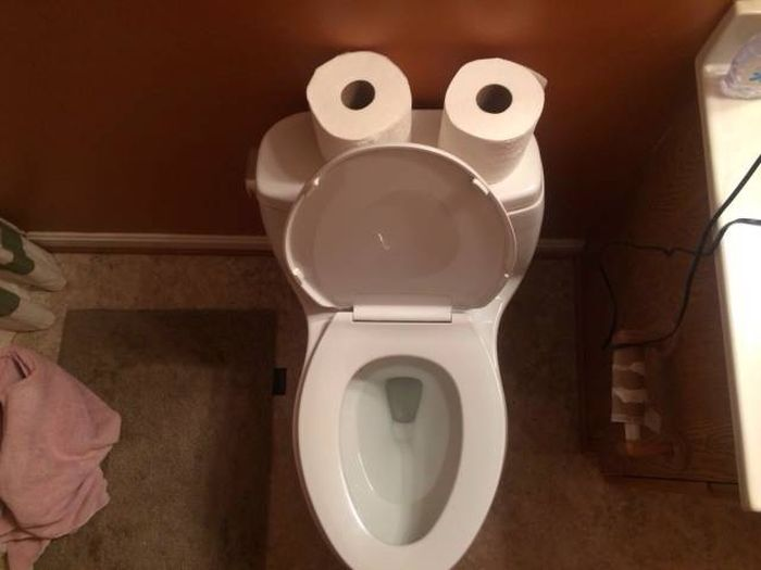 Туалетный юмор (43 фото)