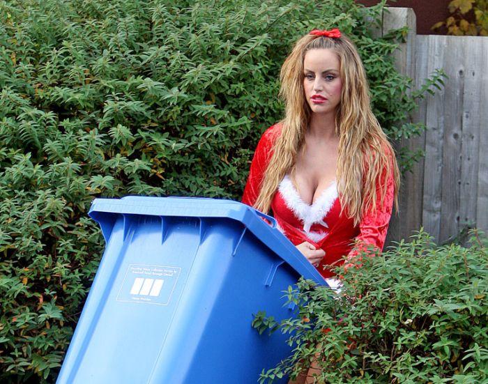 Актриса Даниэль Мейсон пиарится благодаря папарацци (7 фото)