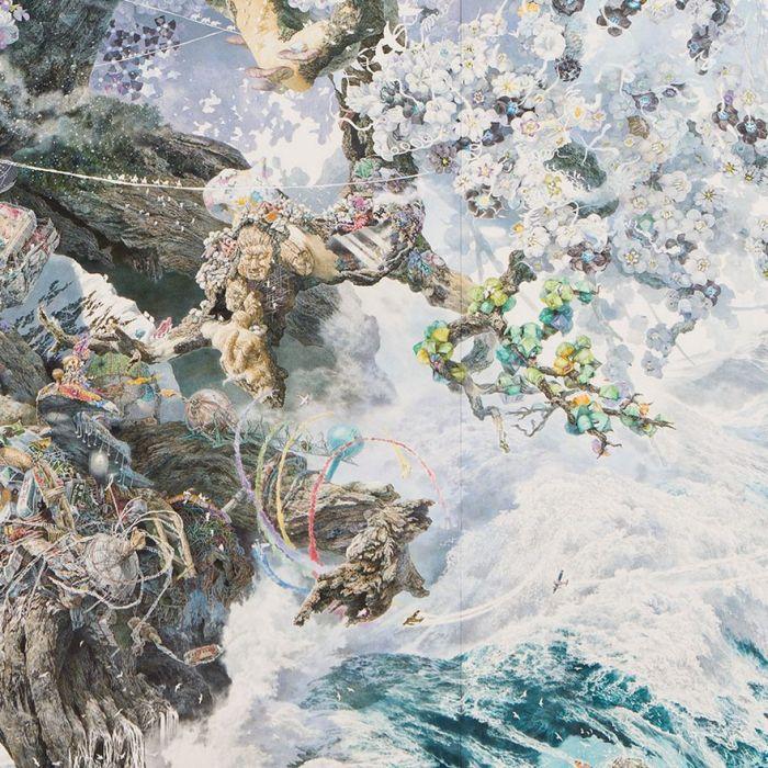 Сила духа японского народа в картине Манабу Икеда (10 фото)