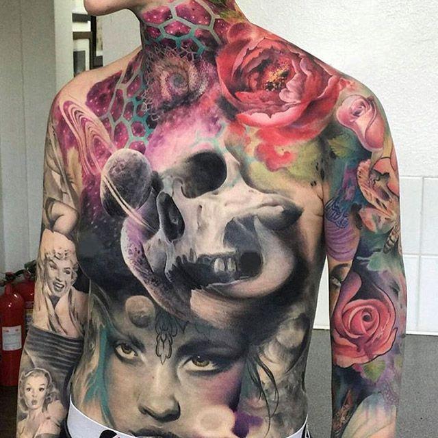 Искусство татуировки (31 фото)