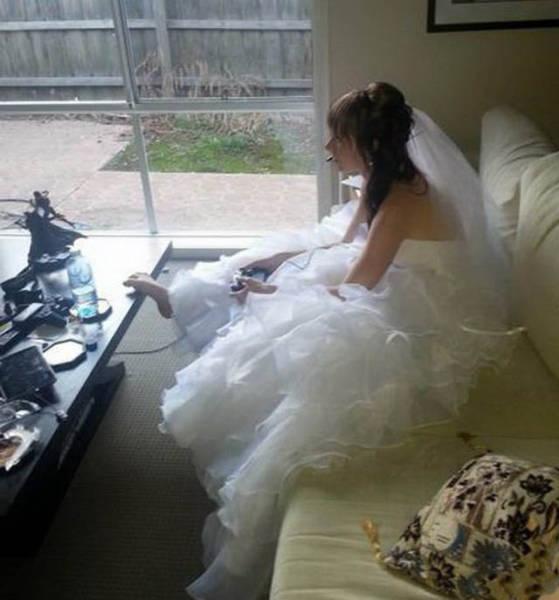 Забавные фото со свадеб (52 фото)