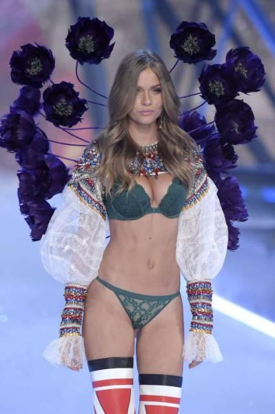 В Париже прошел показ коллекции нижнего белья Victoria's Secret 2016 (60 фото)