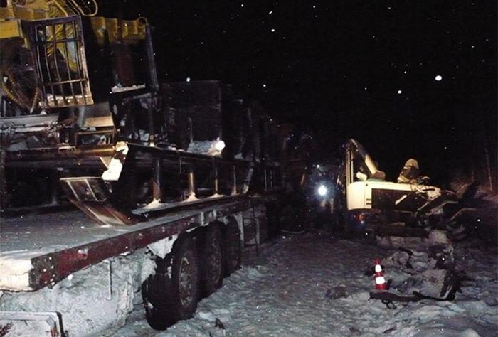 Страшная авария под Ханты-Мансийском (5 фото)
