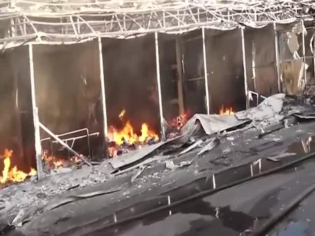 Вокзальный фшемоб в Донецке