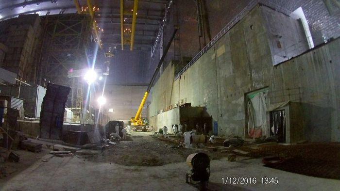 Çernobil Nükleer Santrali Çalışmaları (9 Fotograf)