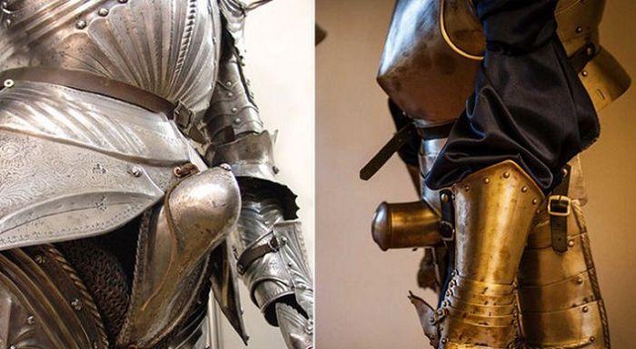 Как справляли нужду средневековые рыцари (6 фото)