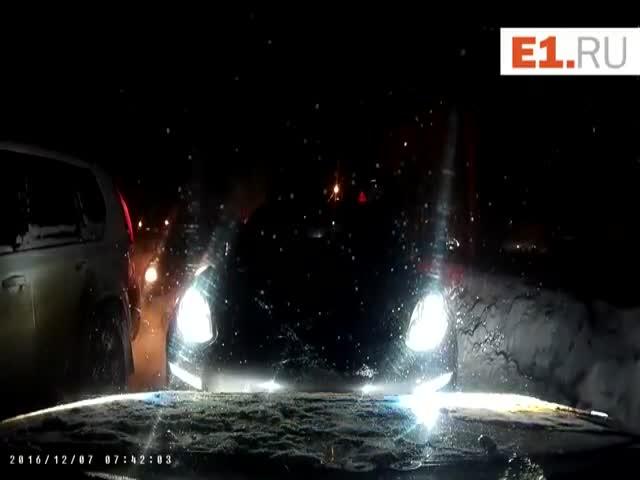 Автомобилист проучил водителя Porsche