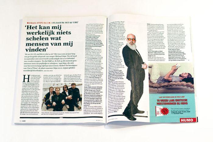 Необычная реклама на страницах бельгийского журнала (8 фото)