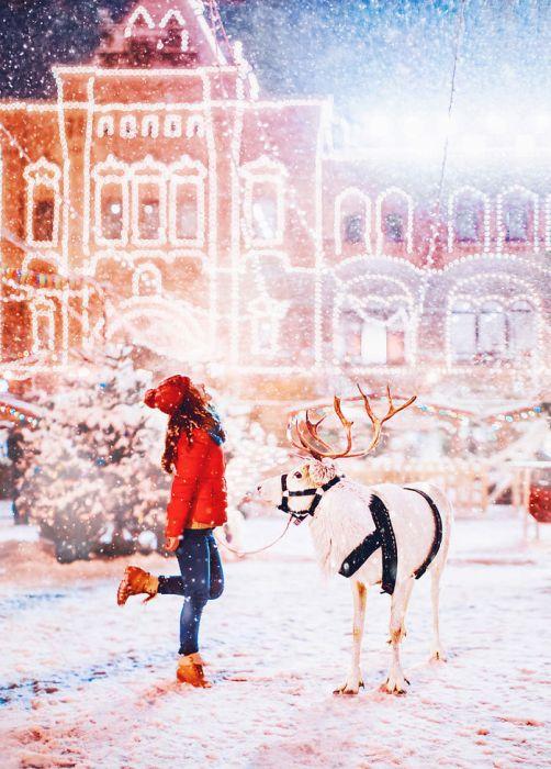 Предновогодняя Москва (30 фото)