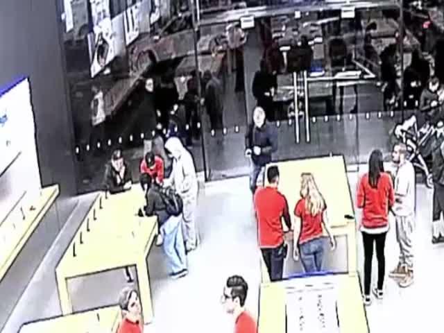 Ограбление магазина Apple в Сан-Франциско