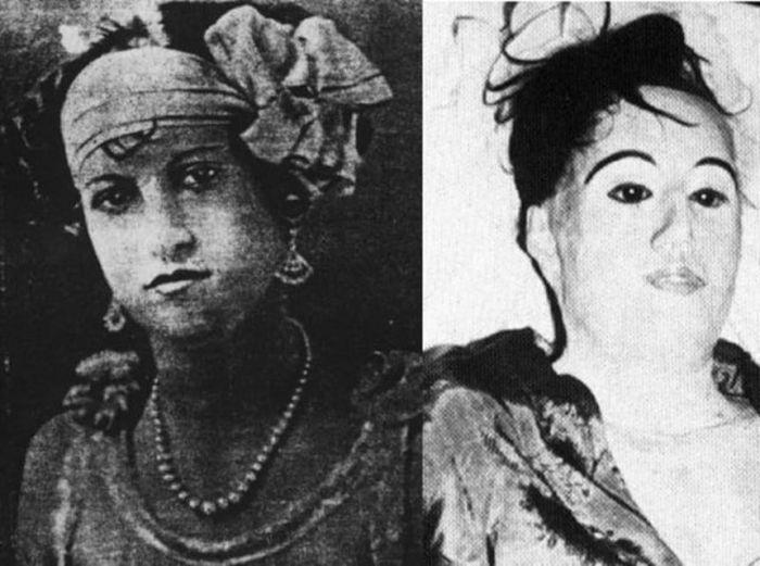 Страшные фото и их жуткие истории (13 фото)