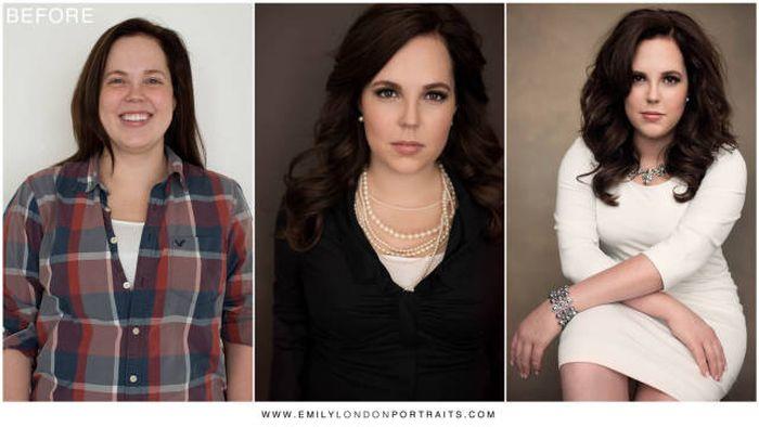 Невероятные преображения женщин и девушек (28 фото)
