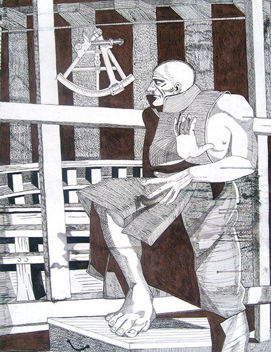Творчество Федора Конюхова (18 рисунков)