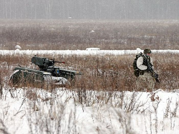 Для армии Эстонии разработали минитанк с дистанционным управлением (6 фото + видео)