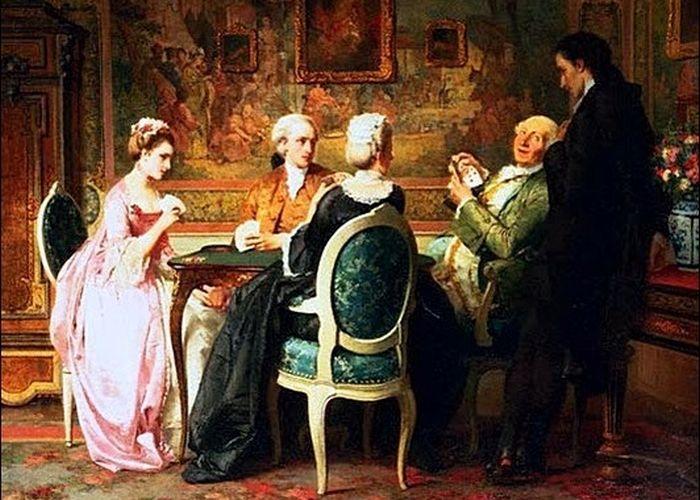 Как князь Александр Голицын жену в карты проиграл (5 фото)