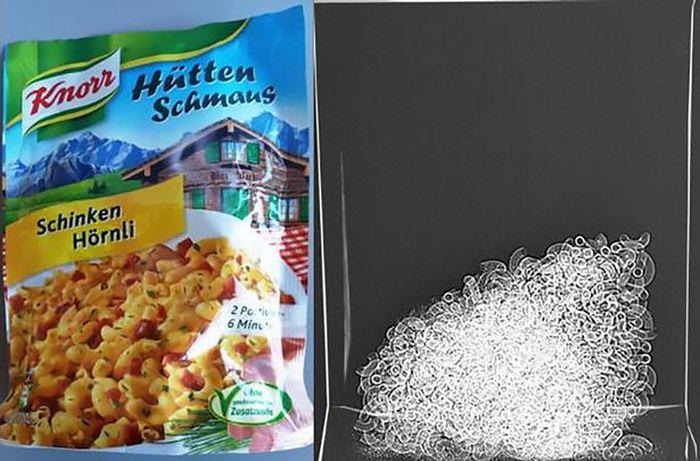 Продажа воздуха в пакетах с продуктами питания (7 фото)