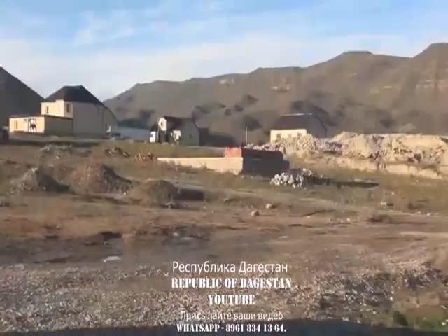 Участие боевого робота в ликвидации боевика Рустама Асельдерова