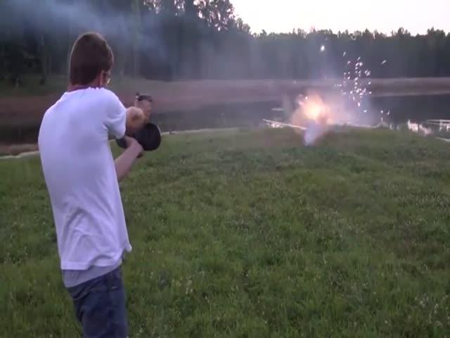 Скоростная стрельба из пистолета Glock