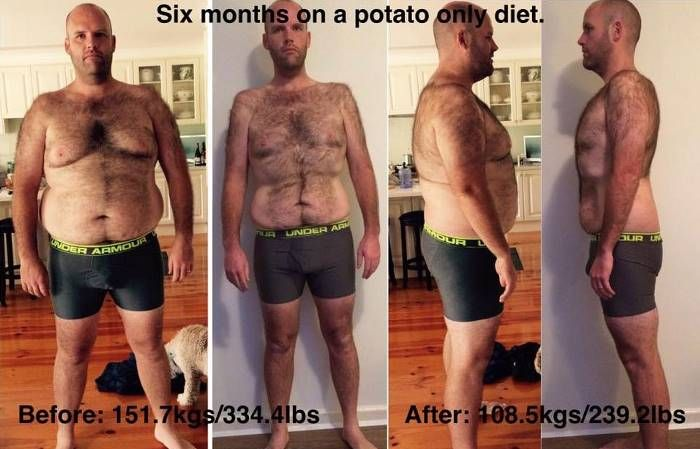 Австралиец целый год питался картофелем и похудел на 50 кг (4 фото)