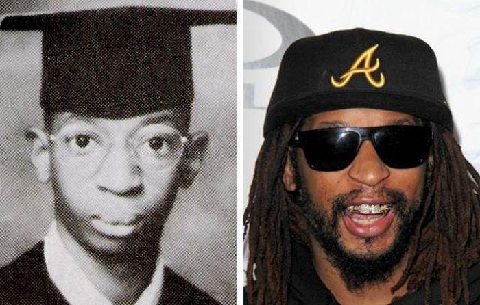 Знаменитости в момент окончания школы и сейчас (23 фото)
