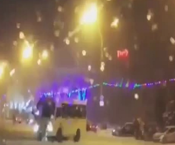 Дрифт ростовского маршрутчика