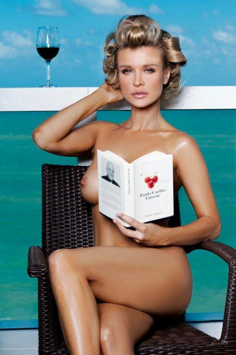 Модель Джоанна Крупа снялась в обнаженной фотосессии (12 фото)