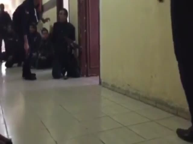 Штурм захваченного террористами замка в Иордании
