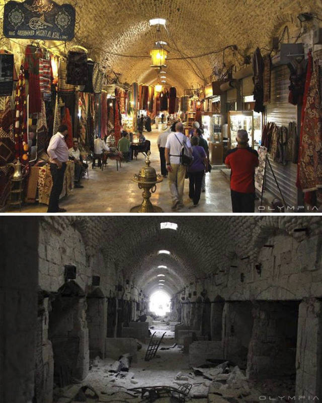 Алеппо до войны и сейчас (30 фото)