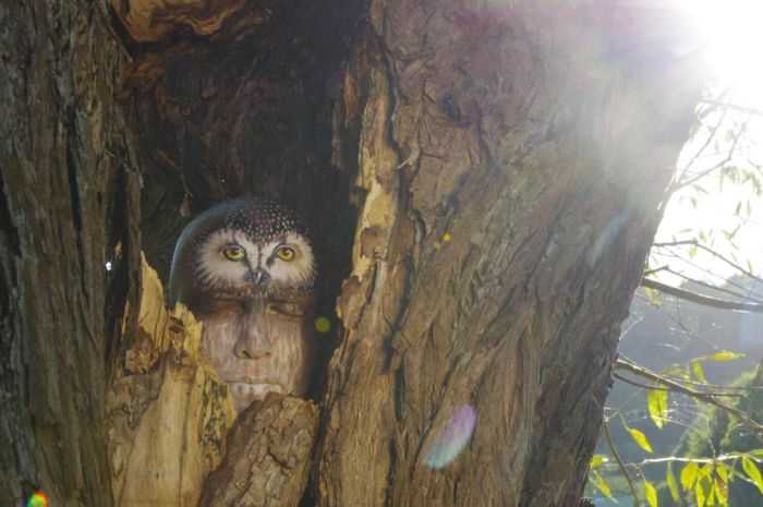 Потрясающий боди-арт от Гезине Марведель (11 фото)