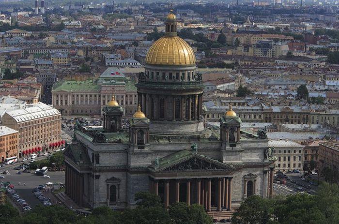 Прекрасная Россия с высоты птичьего полета (38 фото)