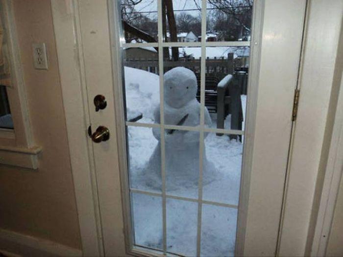 Большая подборка снеговиков (50 фото)