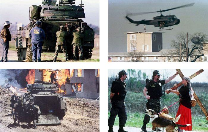 Затяжная война при попытке штурма поселения сектантов (22 фото + 2 видео)