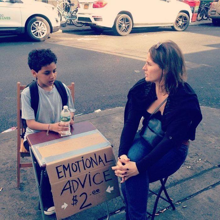 11-летний школьник подрабатывает психологом (15 фото)